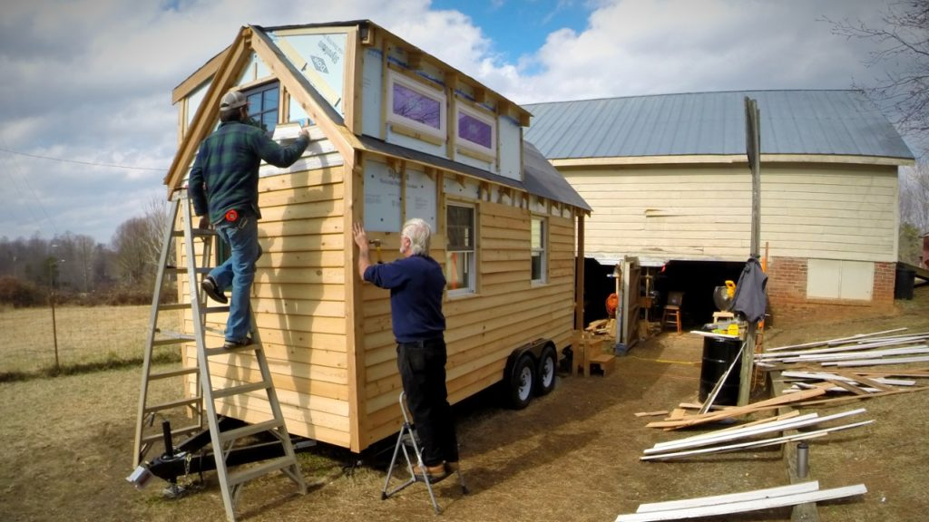 We built our tiny home for approximately $20,000.