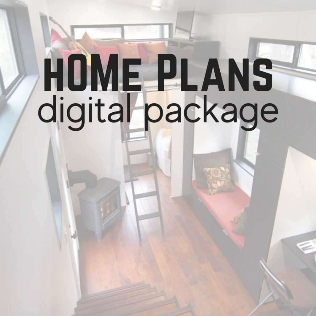 hOMe tiny house plans Digital Package