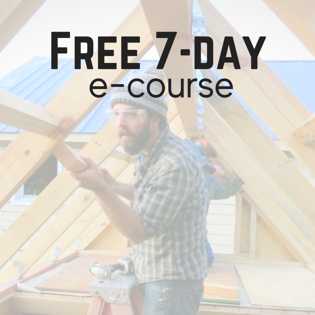 free tiny house e-course